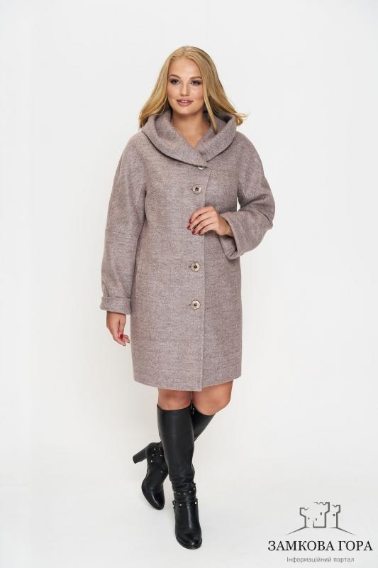 58320b7af95 Зимнее женское пальто больших размеров – это отличный вариант для пышных  красавиц!